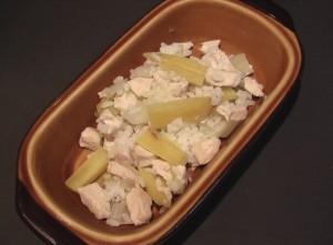 やさしいやさいと鶏煮込みリゾット~秋冬やさいメニュー~